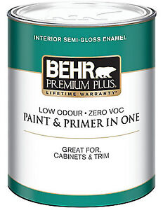 Off-White Paint - full 3.7L can Behr Interior Latex Paint