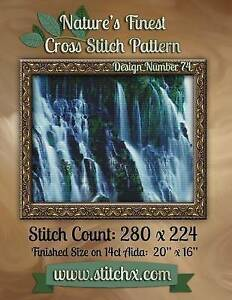 Nature's Finest Cross Stitch Pattern: Design Number 74 by Cross Stitch, Nature