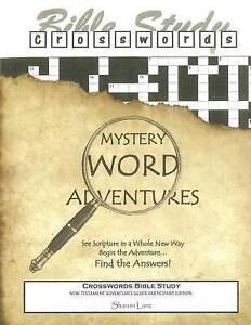 Crosswords Bible Study: Mystery Word Adventures - New Testament - 9781518795060