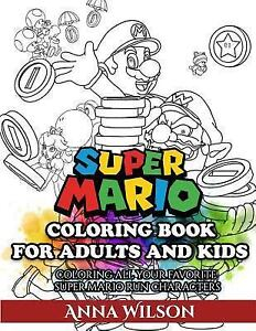 Super Mario Coloring Book for Adults and Kids : Super Mario ...