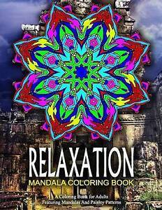 Relaxation Mandala Coloring Book - Vol13 Relaxation Coloring Bo by Charm Jangle