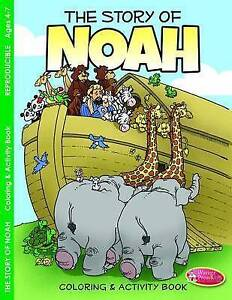 The Story Noah Coloring Activity Book for Ages 4-7 (Pk 6) by Warner Press