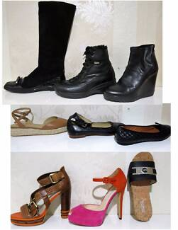 Ladies New/Used  Shoes/Boots Size US 9-10 (39-41) top Brands