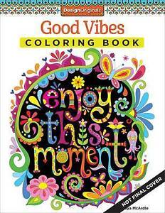 Image Is Loading Good Vibes Coloring Book Fun Design