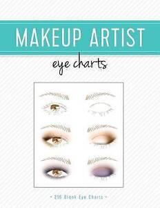 6bbb4357f012 Makeup Artist Eye Charts by Gina M Reyna (Paperback / softback, 2016)