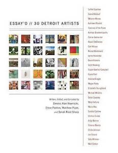 Essay'd: 30 Detroit Artists by Panton, Steve -Paperback
