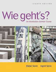 Wie geht's?: An Introductory German Course (with Student Text Audio-ExLibrary