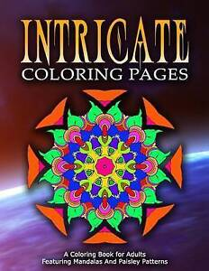 Intricate Coloring Pages - Vol7 Coloring Pages for Girls by Coloring Pages for G