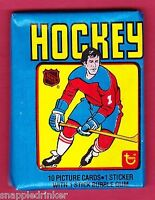 Unopend 1979-80 Topps hockey pack.