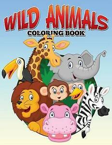 Wild Animals Coloring Book by Bellinger, M. R. -Paperback
