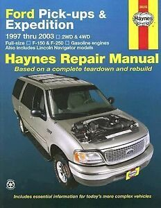 1997 2003 haynes ford pick ups  expedition   lincoln 2004 excursion repair manual forum 2003 Excursion Parts