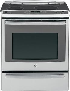 30-inch GE Induction Range, Convection, Stainless