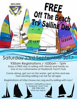 FREE Try Sailing Day at Nedlands Yacht Club