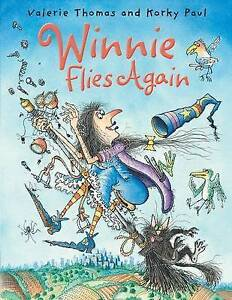 Winnie Flies Again-ExLibrary