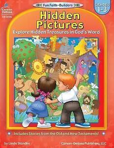 Hidden Pictures: Grades 1-3 by Linda Standke (Paperback / softback, 2003)