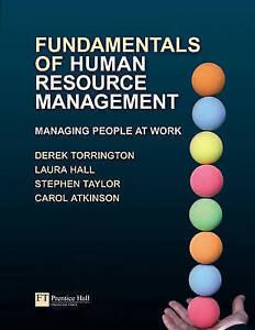 Fundamentals of Human Resource Management Managing People at Work by Torringto - Hertfordshire, United Kingdom - Fundamentals of Human Resource Management Managing People at Work by Torringto - Hertfordshire, United Kingdom