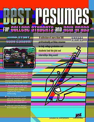 Best Resumes for College Students and New Grads by Kursmark, Louise