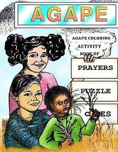 NEW Agape Coloring Activity Book Of Prayers Puzzle Games (Volume 2)