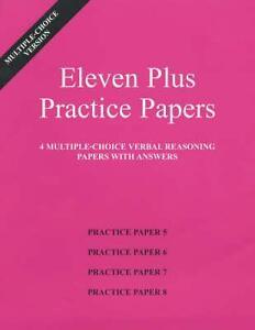 Eleven-Plus-Practice-Papers-5-to-8-von-AFN-Publishing-2001-Leinen-Ordner