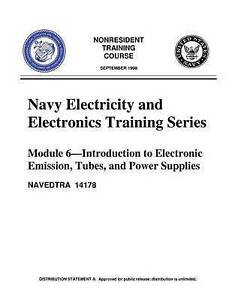 The Navy Electricity Electronics Training Series Module 06 I by United States Na