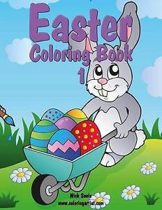 Easter Coloring Book 1 by Snels, Nick -Paperback