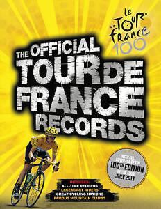 The Official Tour De France Records - New Book Chris Sidwells