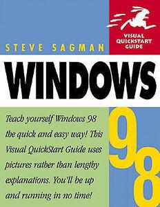 Good-Windows-98-Visual-Quickstart-Guide-Visual-QuickStart-Guides-Paperback
