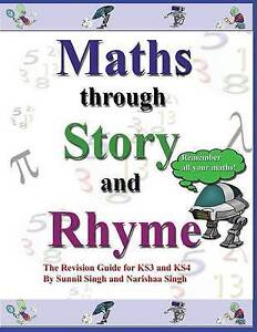 NEW Maths through Story and Rhyme by sunnil Singh