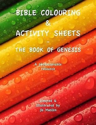 Bible Colouring Activity Sheets The Book Of Genesis