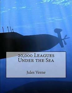 20,000 Leagues Under the Sea Verne, Jules 9781516960279 -Paperback