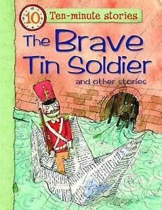 THE BRAVE TIN SOLDIER 5x10 min Stories Children's Book TREASURE STONE FAIRIES