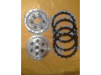 Honda ANF 125 ANF125 Innova - Complete Clutch Friction Disc & Plate 2003 - 2012