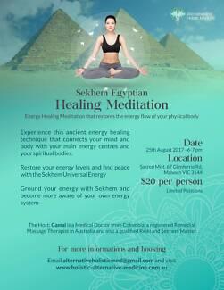 Sekhem Healing Meditation