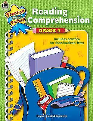 Reading Comprehension, Grade 4 by Teacher Created Resources Staff