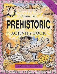 Chhb Prehistoric Activity Book Weatherill  Ste Cased 9781902915821