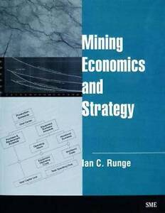 Mining Economics and Strategy by Ian C. Runge Cottesloe Cottesloe Area Preview
