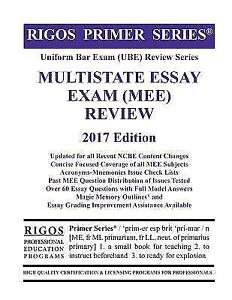 Bar Exam Essays  Romefontanacountryinncom Rigos Primer Series Uniform Bar Exam Ube Review Multistate Essay  High School Admission Essay Examples also Essay Writing Format For High School Students  What Is Thesis In Essay