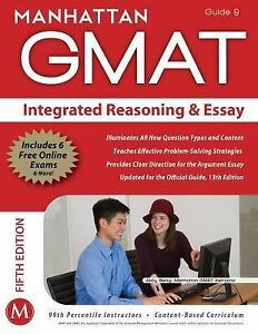 gmat essay books