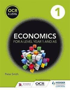 OCR A Level Economics Book 1 by Peter Smith (Paperback, 2015)