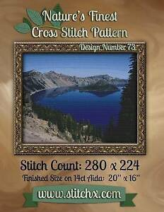 Nature's Finest Cross Stitch Pattern: Design Number 73 by Cross Stitch, Nature