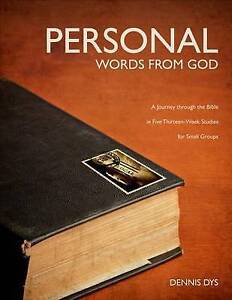 Personal Words God Journey Through Bible in Five Thir by Dyson Dennis -Paperback