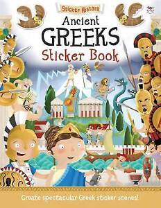 Sticker History Ancient Greeks,Take a History trip to Ancient Greece!,Age 7+,New