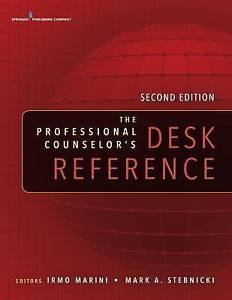 NEW The Professional Counselor's Desk Reference, Second Edition