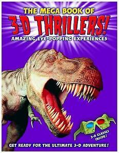 The Mega Book of 3D Thrillers!,Paul Harrison,Very Good Book mon0000066424