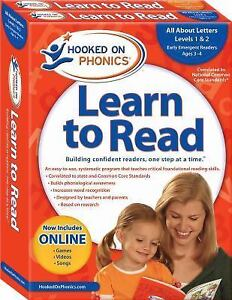 Hooked on Phonics Learn to Read Pre-K Levels 1 & 2, Ages 3-4, Hooked on Phonics