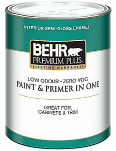 Off-White Paint - full 3.7L can Behr Latex Paint