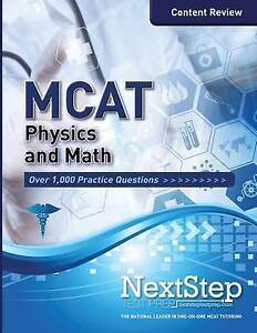 MCAT Physics and Math: Content Review for the Revised MCAT by Schnedeker, Bryan