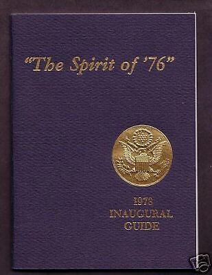 Official President Richard Nixon 1973 Inaugural Guide