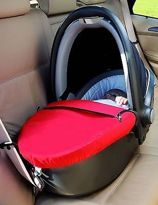 BRITAX Baby Safe Sleeper Carry Cot With Raincover - Lie Flat Car ...