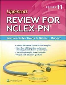 Lippincott Review for NCLEX-PN 11th Edition